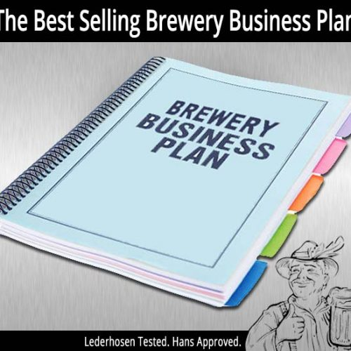 Forgive our shameless plug! The Brewery Business Plan: How to Start a Brewery